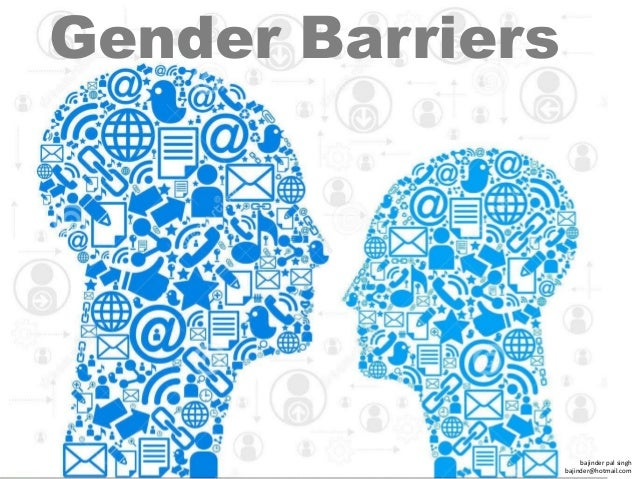 "barriers on gender Gender barriers are certainly existent in today's sports culture, such as ""women's-only events"" or ""men-only event"" in the olympics shows bias towards a specific gender role."