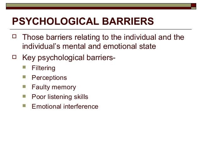 gender barriers in communication