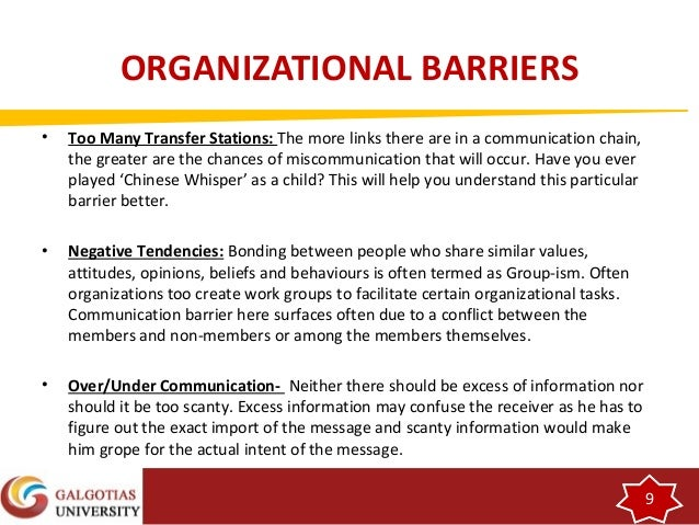 what are barriers that may exist in group communication Read chapter 9 barriers to effective treatment and intervention: every year (hay group, 1998) not surprisingly in developing countries, no registries may exist.