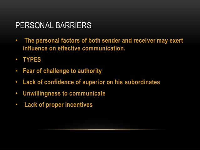 ways to overcome barriers of communication Overcoming communication barriers: noise and physical barriers noise is one of the most common barriers in communication it is any persistent or random disturbance.