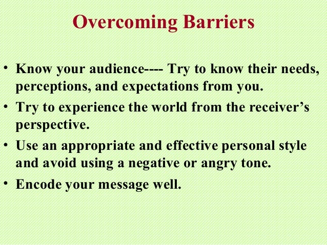 how to avoid intercultural barriers Strategies to overcome communication barriers in the workplace josephine gulkanat 04/08/2014 inroduction good morning everybody.