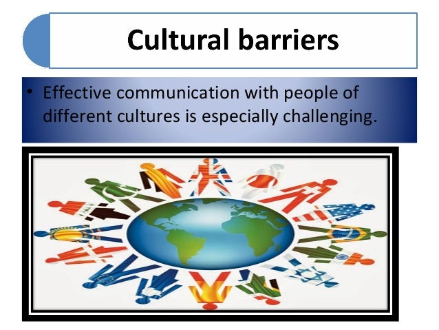 culture as a barrier to development What are the barriers barriers to organizational change management fails to recognize the different sub-cultures that exist within the corporate culture.