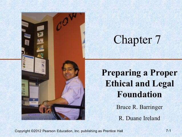 Chapter 7                                                     Preparing a Proper                                          ...