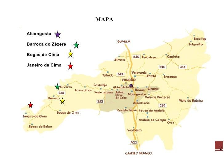 janeiro de cima mapa Barroca Do ZêZere 5 janeiro de cima mapa