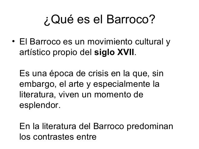 Barroco en general for Que es arte arquitectura