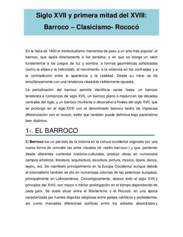 Barroco -clasicismo_-_rococo