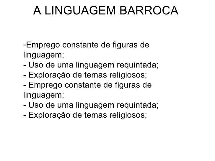 O que é linguagem requintada