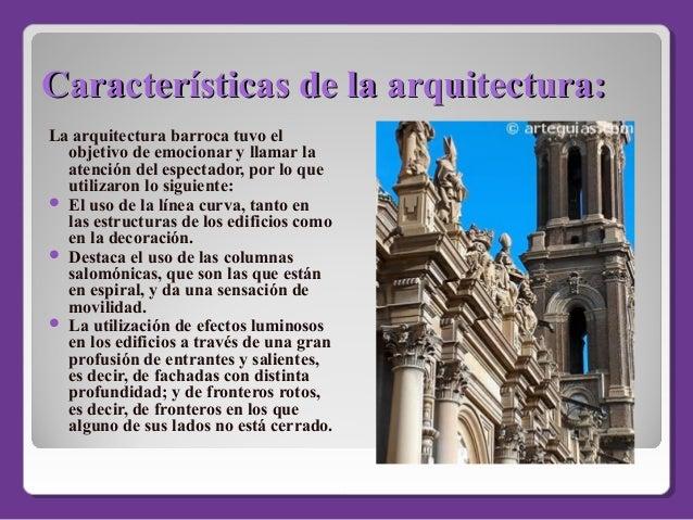 Barroco en america for Arquitectura definicion