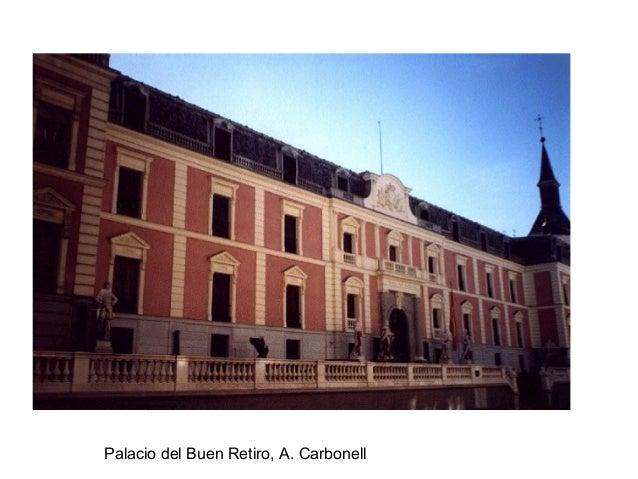 Palacio del Buen Retiro, A. Carbonell