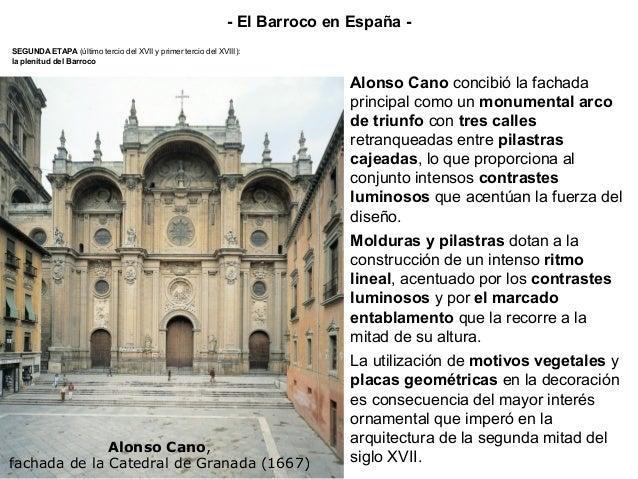 Torre del Reloj de la Catedral de Santiago de Compostela. Domingo de Andrade, 1676-80 Al finalizar el siglo XVII ya se han...
