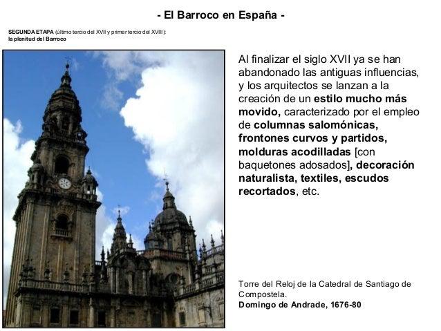 SEGUNDA ETAPA (último tercio del XVII y primer tercio del XVIII): la plenitud del Barroco - El Barroco en España - Plaza M...
