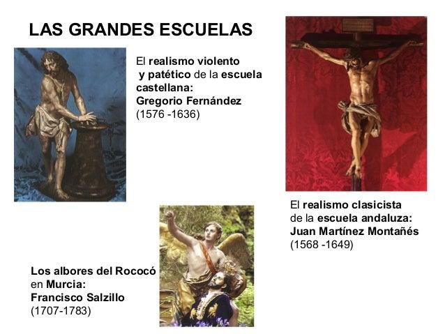 Se representa a Cristo aún vivo, y se huye de la exageración. La imagen resulta realista, pero un tanto idealizada; despre...