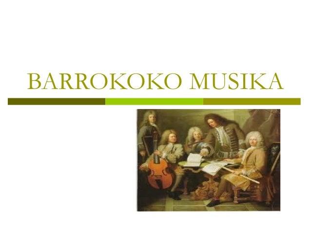 BARROKOKO MUSIKA