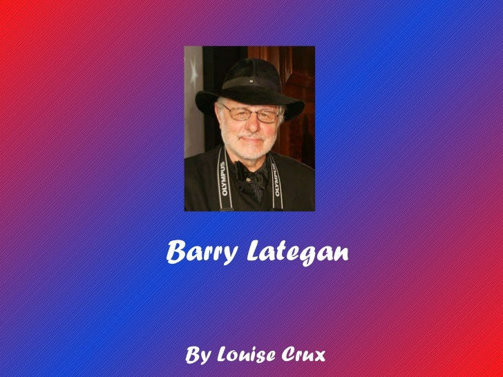 Barry Lategan By Louise Crux