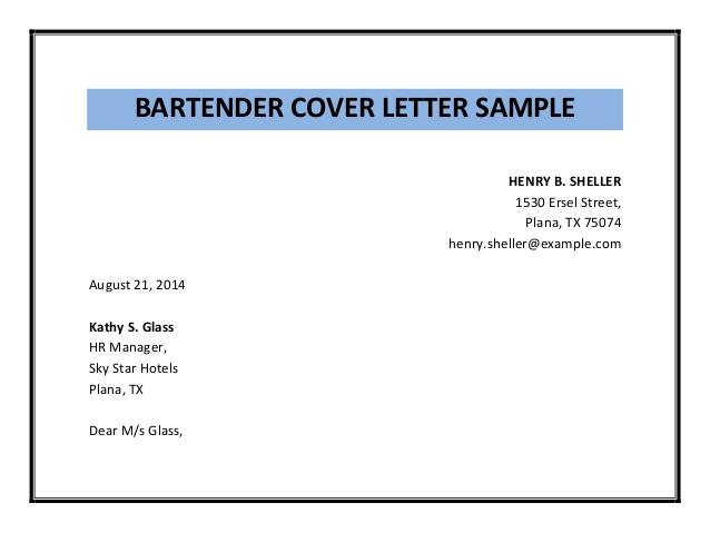bartender-cover-letter-sample-pdf-3-638 Sample Application Letter For Bartender on for transfer, any position, teaching position, for housekeeping, high school, college scholarship, for school board,