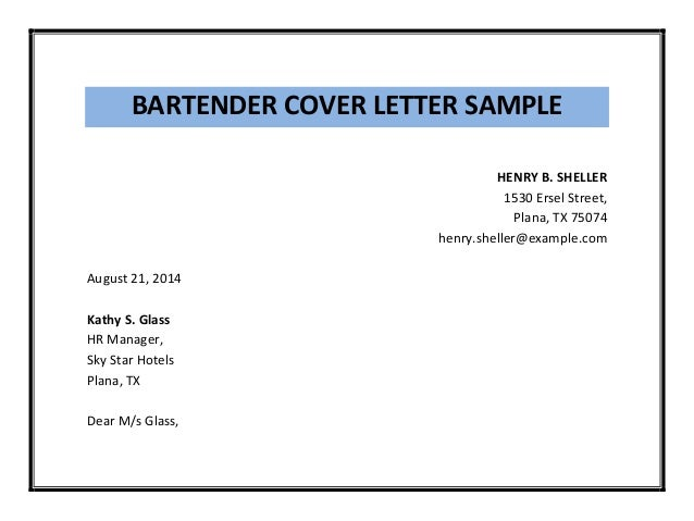 bartender-cover-letter-sample-pdf-3-638 Job Application Letter Bartender on job application form, curriculum vitae letter, resume letter, cover letter, job hiring letter, job application format, resignation letter, job application email, job application pattern, job persuasive letter, job application resume, job petition letter, job interview, job performance letter, job application template, job application brochure, part time job letter, cv letter, job application paragraph, employment letter,