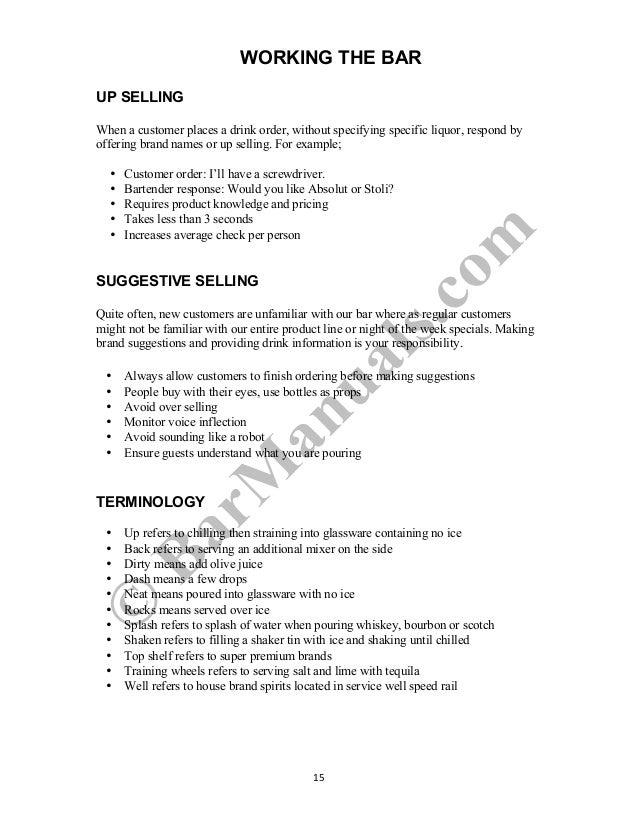 Training Bartender Training Training Bartender Manual Manual Manual Bartender Bartender