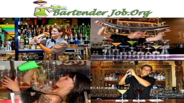 bartender job duties and responsibilities at a glance