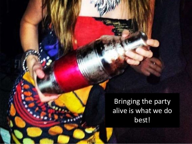 Bringing the party alive is what we do best!
