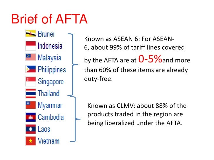 ASEAN Free Trade Area (AFTA Council)