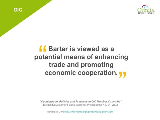 Barter trade system pdf