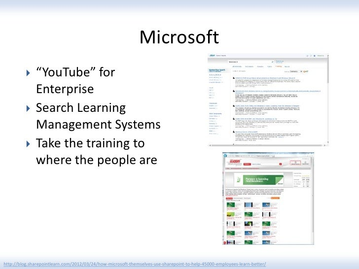 """Microsoft             """"YouTube"""" for              Enterprise             Search Learning              Management Systems ..."""
