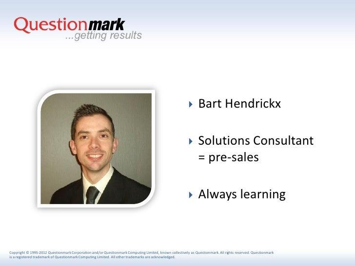     Bart Hendrickx                                                                                                      ...