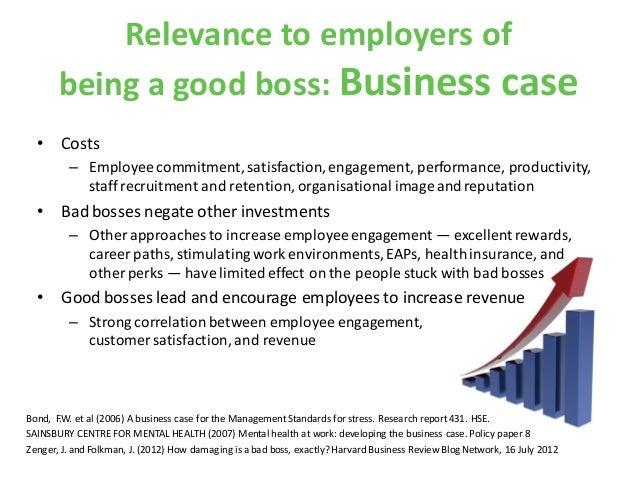 Being a good boss_VBF event_London Vet Show_16 November 2012