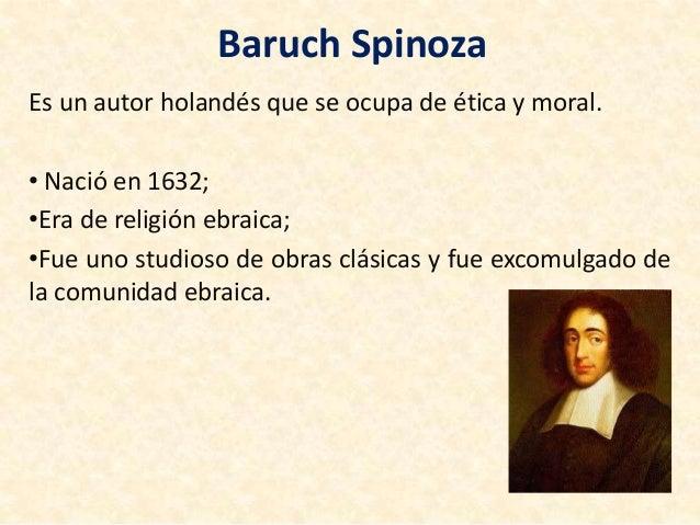 Baruch Spinoza Presentazione In Spagnolo