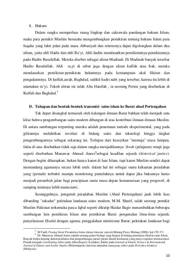 8. Hukum Dalam rangka memperluas ruang lingkup dan cakrawala pandangan hukum Islam, maka para pemikir Muslim berusaha meng...