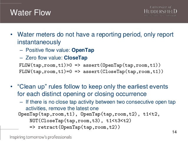 14 • Water meters do not have a reporting period, only report instantaneously – Positive flow value: OpenTap – Zero flow v...