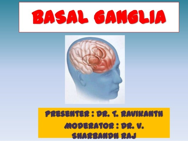 BASAL GANGLIA Presenter : Dr. T. Ravikanth     Moderator : Dr. V.      Sharbandh Raj