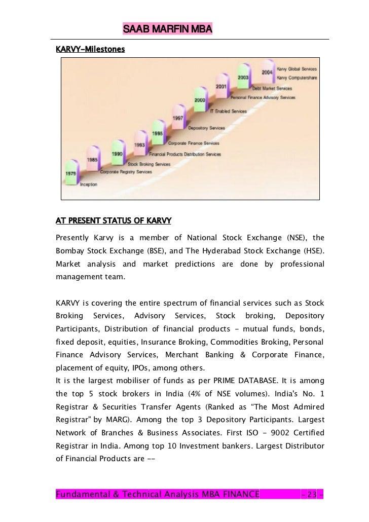 FUNDAMENTAL & TECNICAL ANALYSIS OF KARYAVA STOCK EX ...