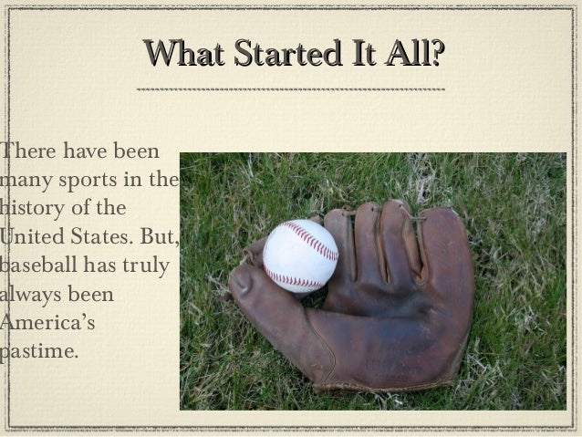 baseball powerpoint
