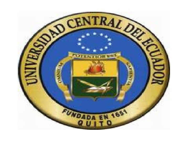 CENTRAL UNIVERSITY OF ECUADORFaculty of Philosophy, Literature and education science                           • LANGUAGE ...