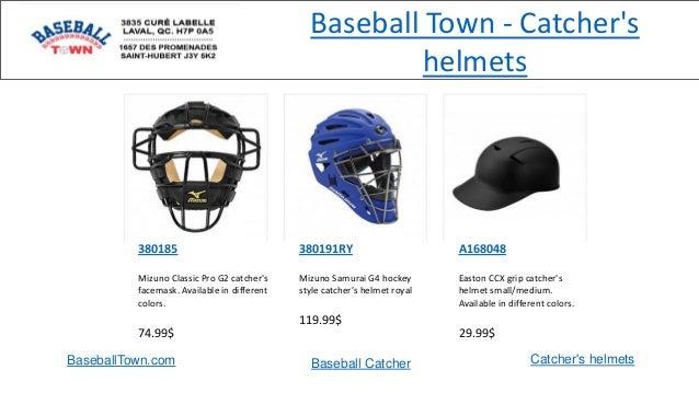 BaseballTown.com Baseball Catcher Catcher's helmets 380185 Mizuno Classic Pro G2 catcher's facemask. Available in differen...
