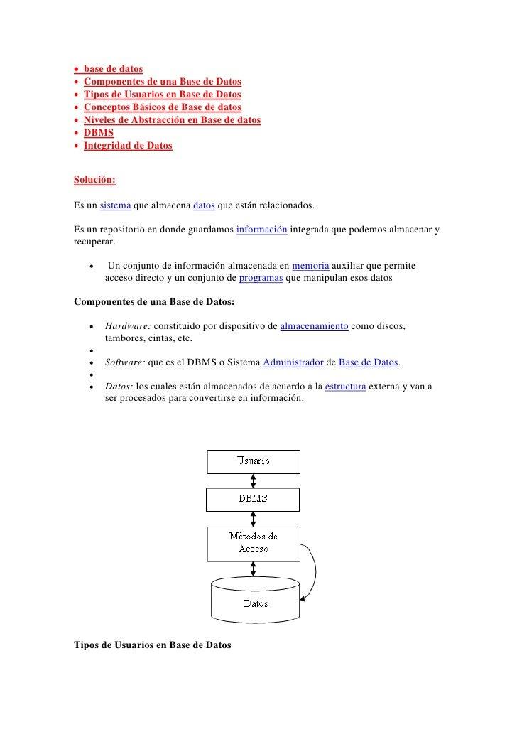 Base de datos Slide 2