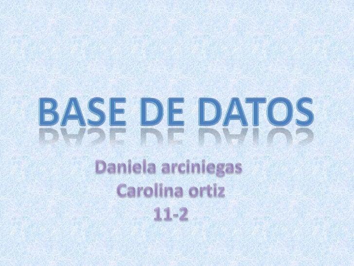 La estructura de una base de datos hace referencia a los tiposde datos, los vínculos o relaciones y las restricciones que ...