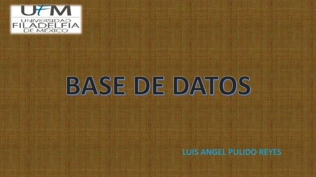 Las bases de datos son el método preferido para el almacenamiento estructurado de datos. Desde las grandes aplicaciones mu...