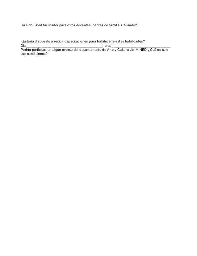 Base de datos personal docente, santa ana Slide 3