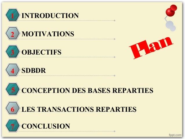 Base des données réparties Slide 2
