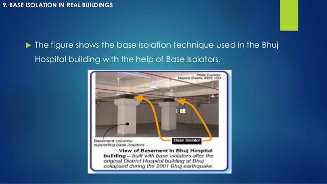 Base isolation
