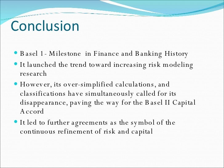 research paper in basel norms regarding banks