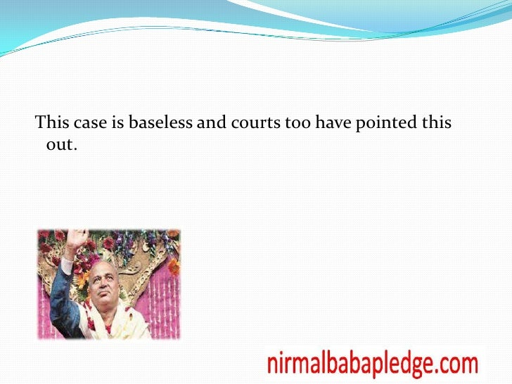 an introduction to the analysis of nirmal baba ji Enjoy an introduction to the analysis of nirmal baba ji proficient essay writing and custom writing services provided by professional academic writers the terms .