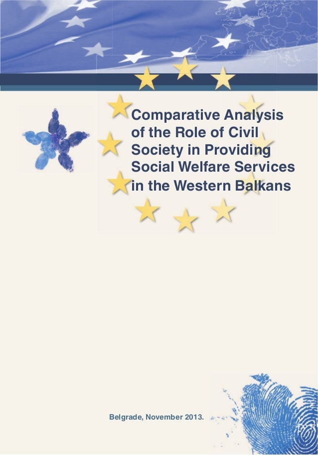 Comparative Analysis of the Role of Civil Society in Providing Social Welfare Services in the Western Balkans  Belgrade, N...