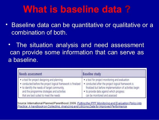 What is baseline study? definition and meaning ...