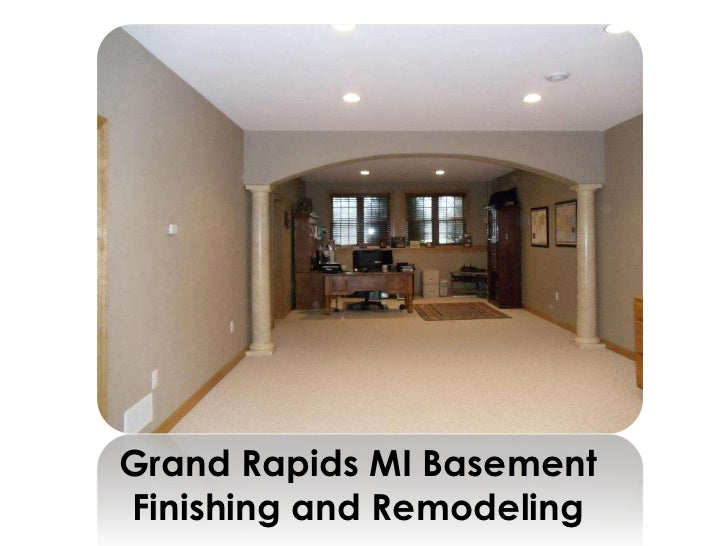 Grand Rapids MI BasementFinishing and Remodeling