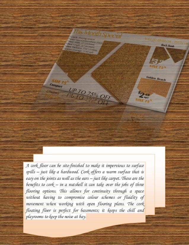 Basement Insulation With Cork Flooring Underlayment