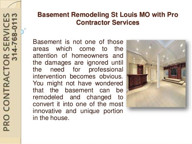 Basement Remodeling St Louis MO With Pro Contractor Custom Basement Remodeling St Louis
