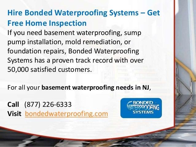 basement waterproofing in nj tips to choose